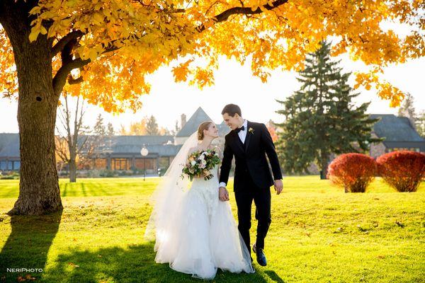 """""""On Saturday Thomas and Maura celebrated their wedding at Cascade Hills Country Club in Grand Rapids, Michigan. Congratulatio"""