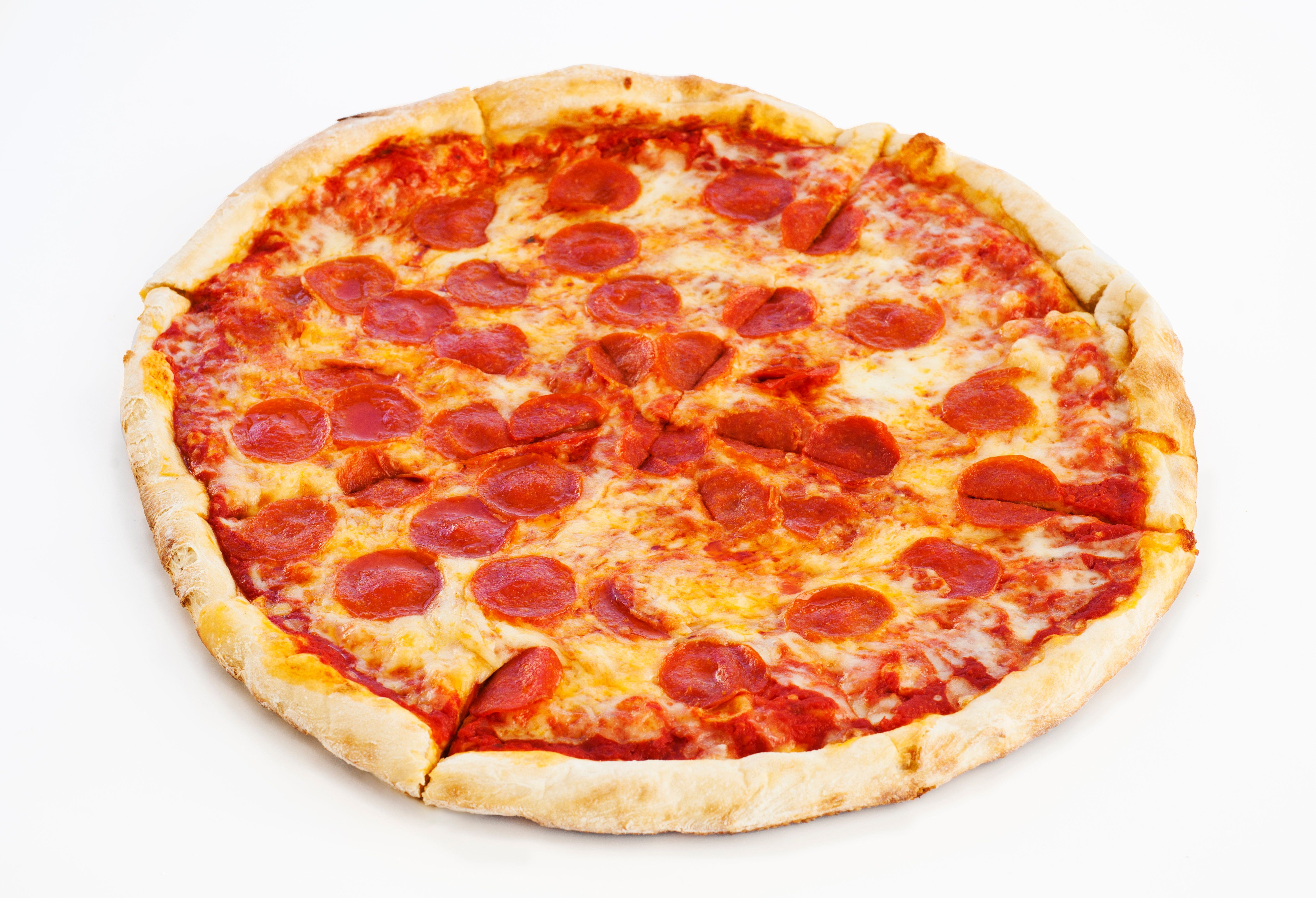 A hot slice of heaven for voters who face grueling lines at the polls and growling stomachs.