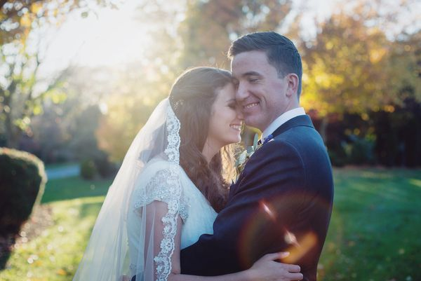 """""""Caitlin and Tim got married on Saturday and had an amazingly beautiful reception at Linwood Estate in Carlisle, Pennsylvania"""