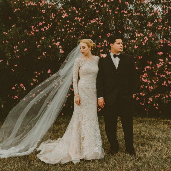 """""""After 10 years, they are now husband and wife."""" -- <i>photographer Marissa Simon</i>"""