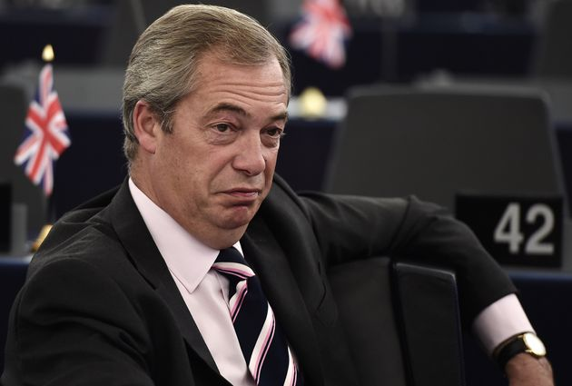 Nigel Farage at the European Council in