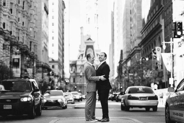 """Everyone should be this joyful on their wedding day."" -- <i>photographer Lauren Allmond</i>"
