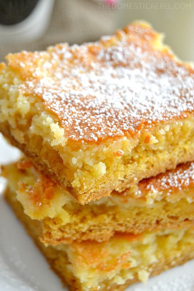 Gooey Butter Cake Is Missouri S Mind Blowing Dessert That