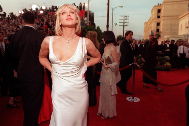 Courtney Love in Versace at the 1997