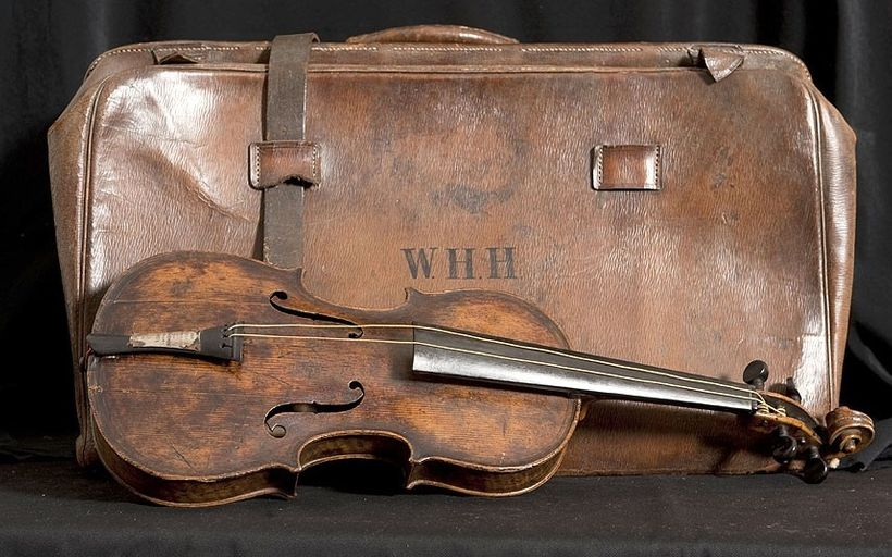 <em><strong>Wallace Hartley's violin </strong></em><em><strong>—</strong></em><em><strong> what was once lost has now been fo