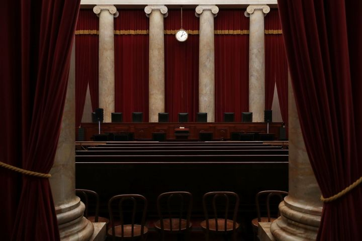 The courtroom of the U.S. Supreme Court is seen Sept. 30 in Washington, D.C.