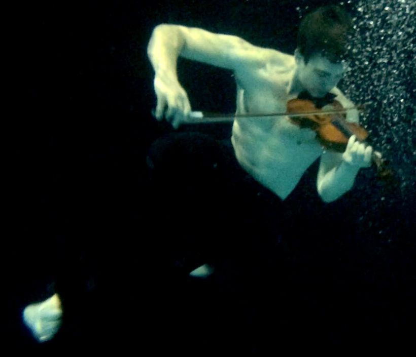 "<em><strong>""Take me to the waters deep"" — Haunting image from beautiful 'Titanically' video</strong></em>"