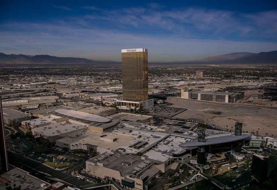 Las Vegas' Trump Tower in 2015.