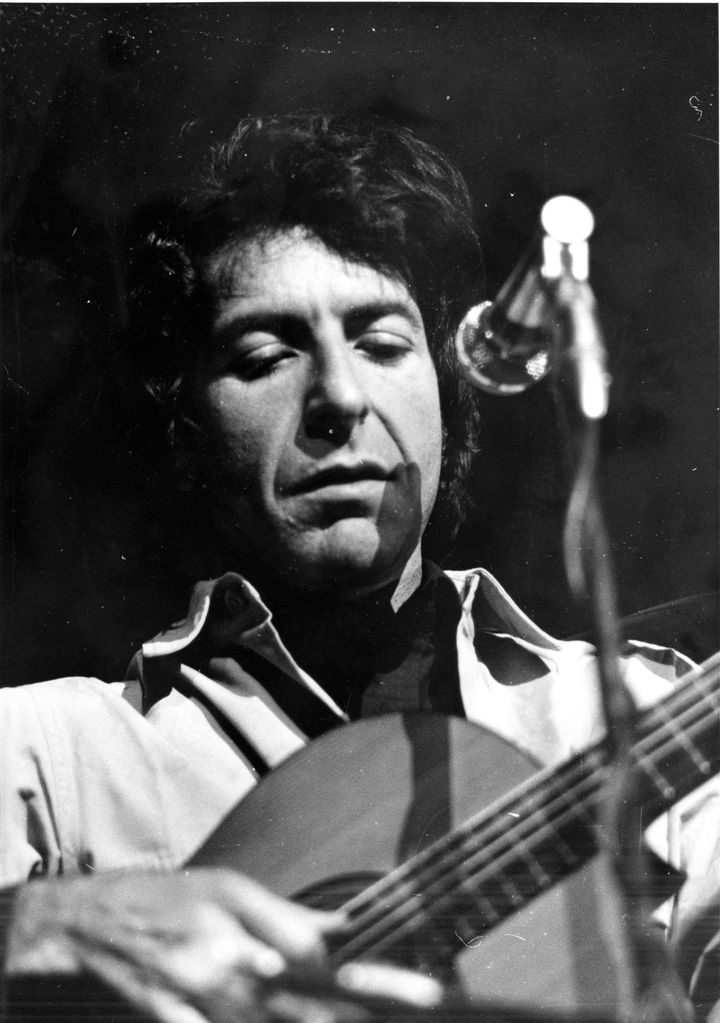TORONTO, ON: Poet-singer Leonard Cohen performing at Massey Hall. Photo taken by Frank Lennon Dec. 7, 1970. (Frank Lennon/Tor