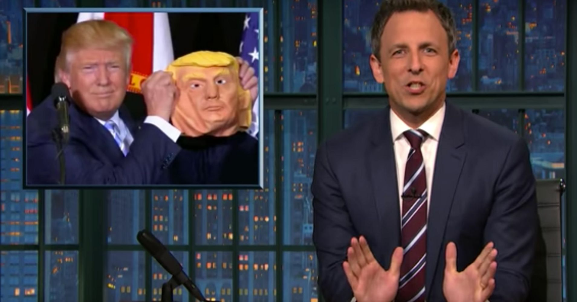 Seth Meyers Mocks 'Scooby Doo Villain' Donald Trump For The Last ...
