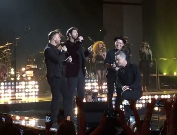 Robbie Williams Reunited With Take That And It Was