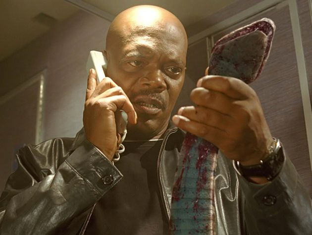 Samuel L Jackson stars in Snakes on a Plane, where he plays an FBI agent on a planefull of deadly...