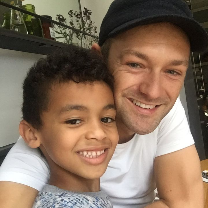 Ben and his son Jackson