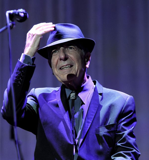 Leonard Cohen In Concert At Wembley Arena, London, Britain, Sept. 9, 2012.