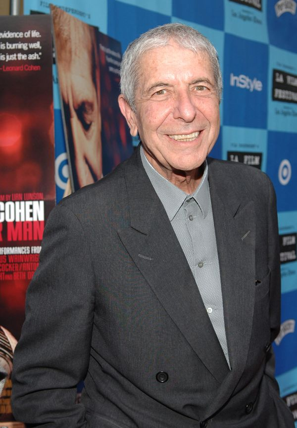 Leonard Cohen (Photo by John Sciulli/WireImage for LIONSGATE)