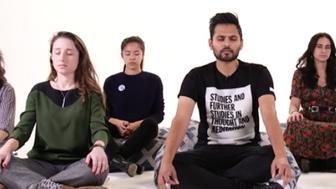 Jay Shetty walks us through a guided meditation