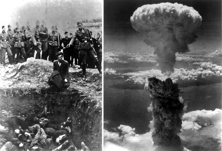 World War II as the moment of Peak Whiteness: Vinnista, Ukraine (1942) & Nagasaki, Japan(1945)