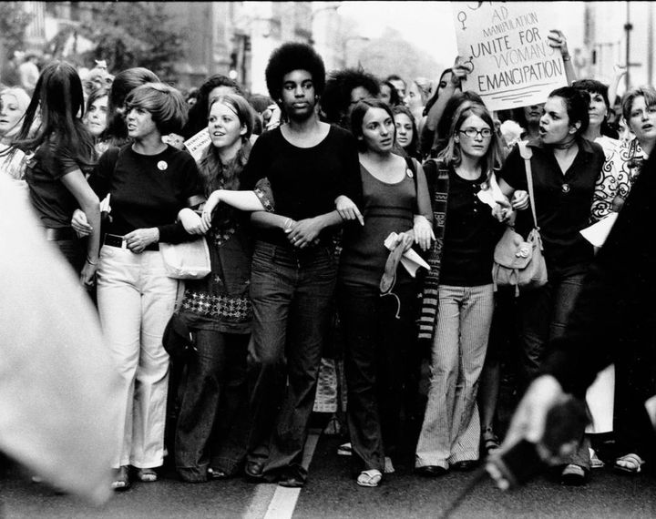 Women's Liberation March, NYC1970.
