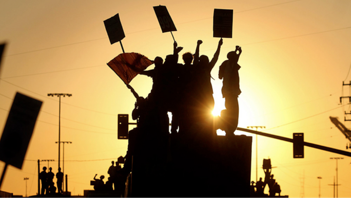 A movement of movements: Occupy Oakland's General Strike, November 2,2011.