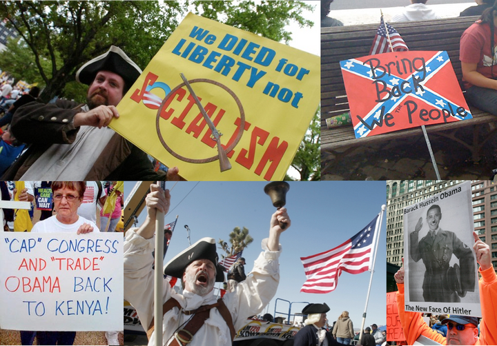 The New White Right, or Tea Party Patriot Protests 2009–2010.