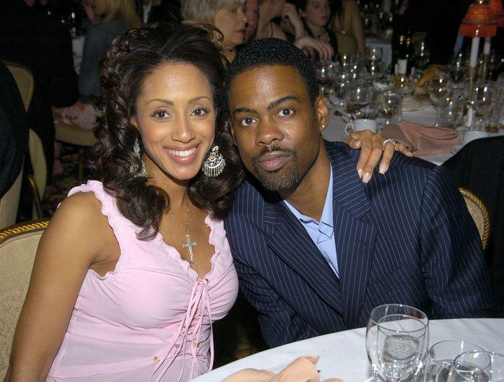 Chris Rock and ex-wife Malaak Compton-Rock