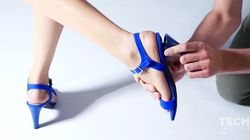These Shoes With Interchangeable Heels Are Game
