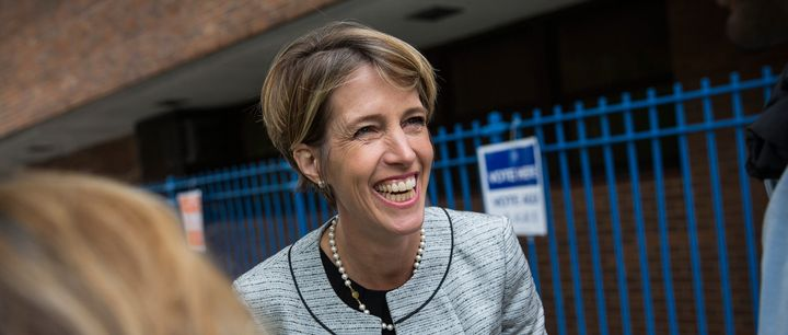 Zephyr Teachout, seen here during her primary challenge to New York Gov. Andrew Cuomo on Sept. 9, 2014, in New York City