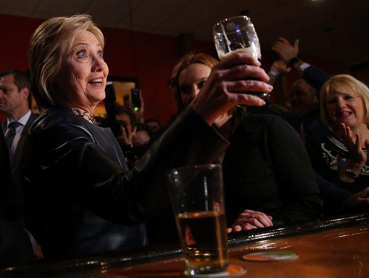 We feel you, Hillary.