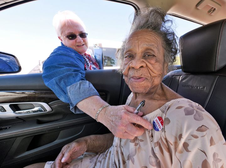 100-Year-Old Woman Casts Vote After Politicians Tried To Stop Her ...