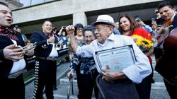 91-Year-Old Immigrant Becomes U.S. Citizen Just In Time To