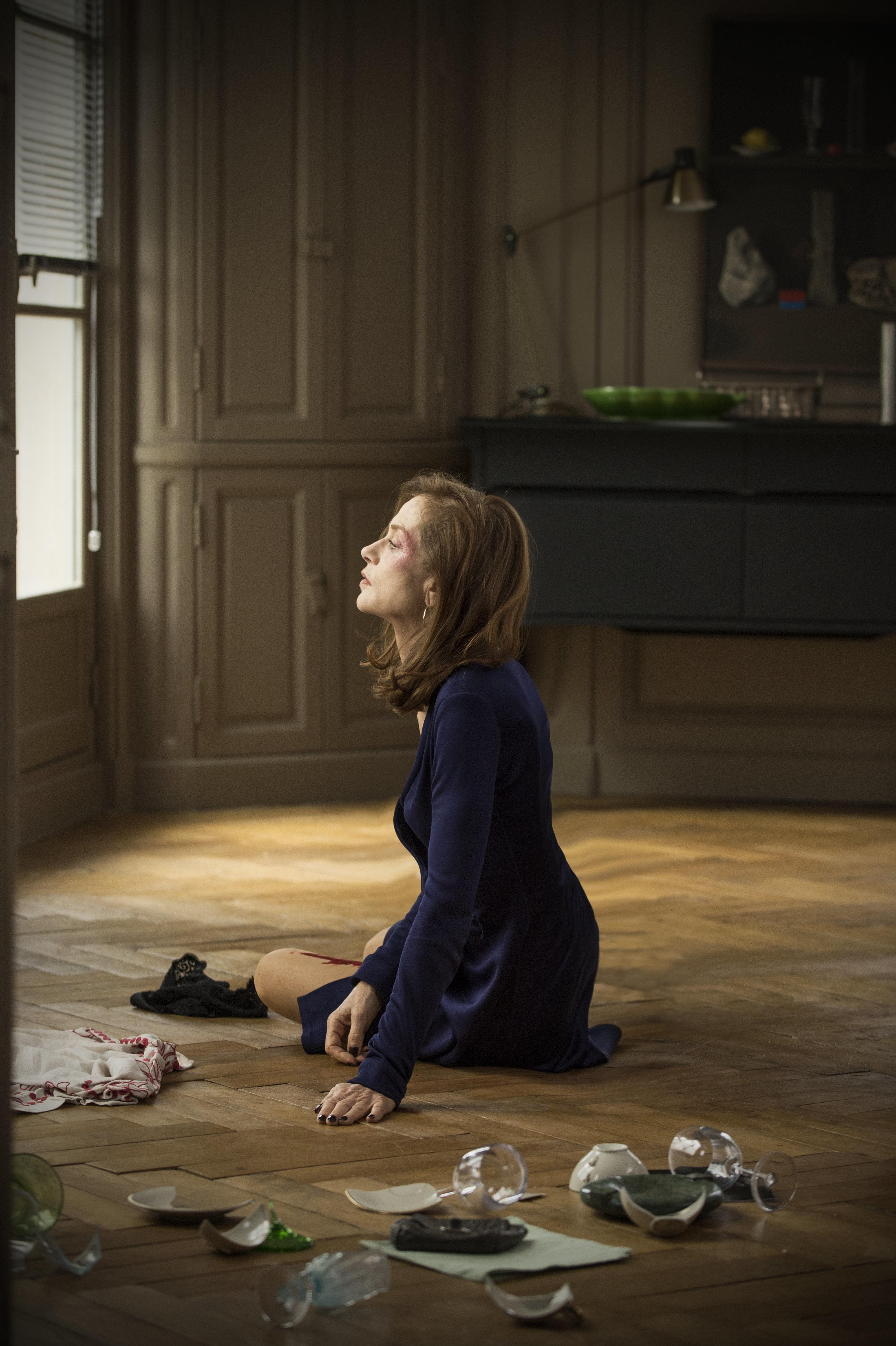 """Isabelle Huppert in """"Elle."""""""