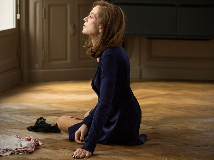 "Isabelle Huppert stars in a scene from ""Elle."""