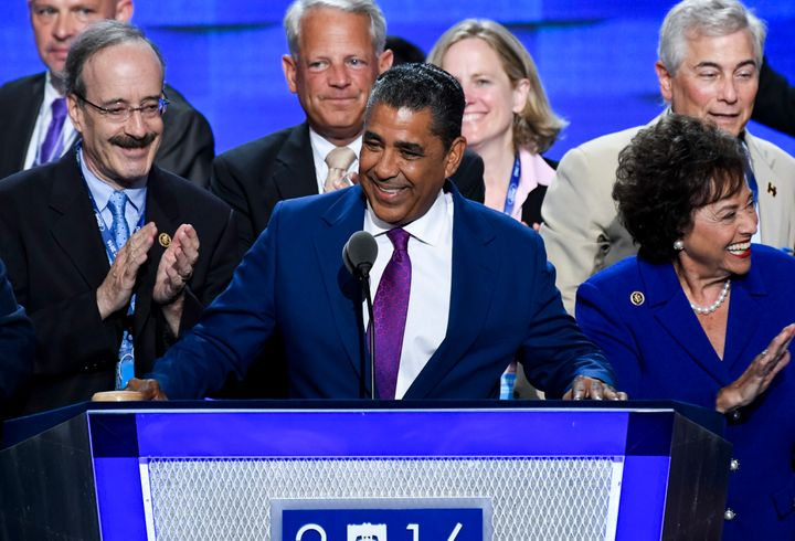 Adriano Espaillat is the first formerly undocumented immigrant to be elected to Congress.