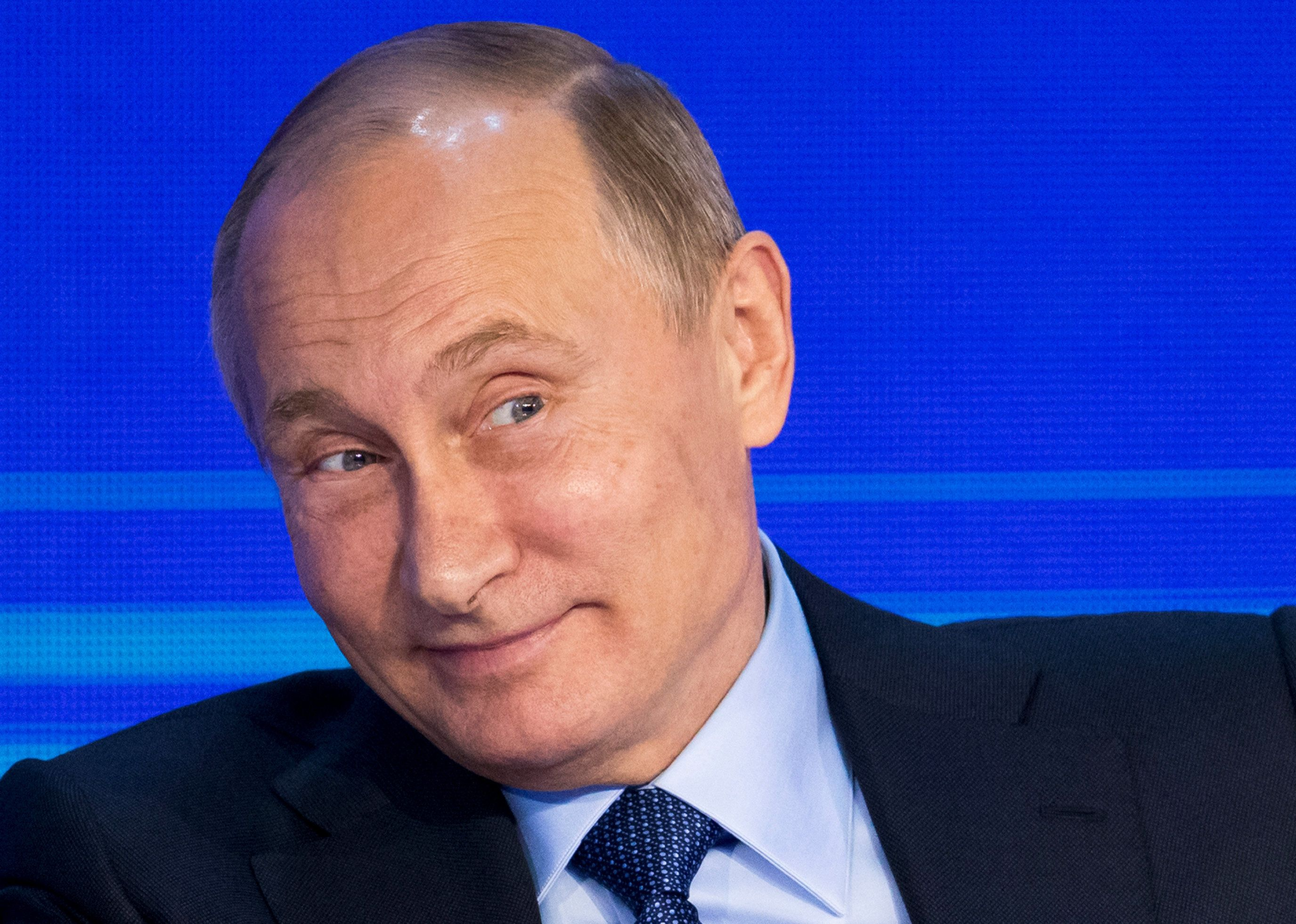 Russian leaderVladimir Putin suggested a constructive dialogue was now possible with Donald Trump becoming president.