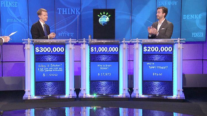 Watson wins on Jeopardy.