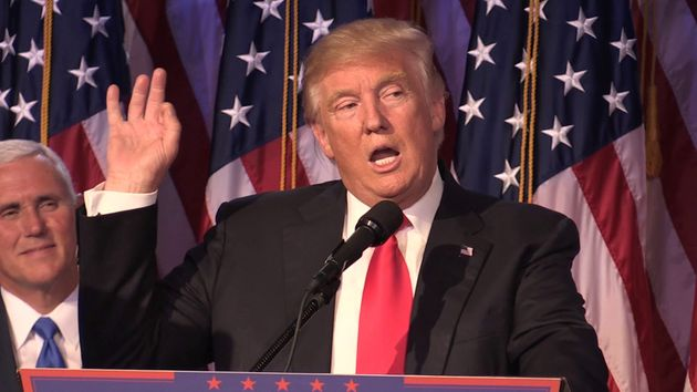 Donald Trump has been elected the President of the United States of