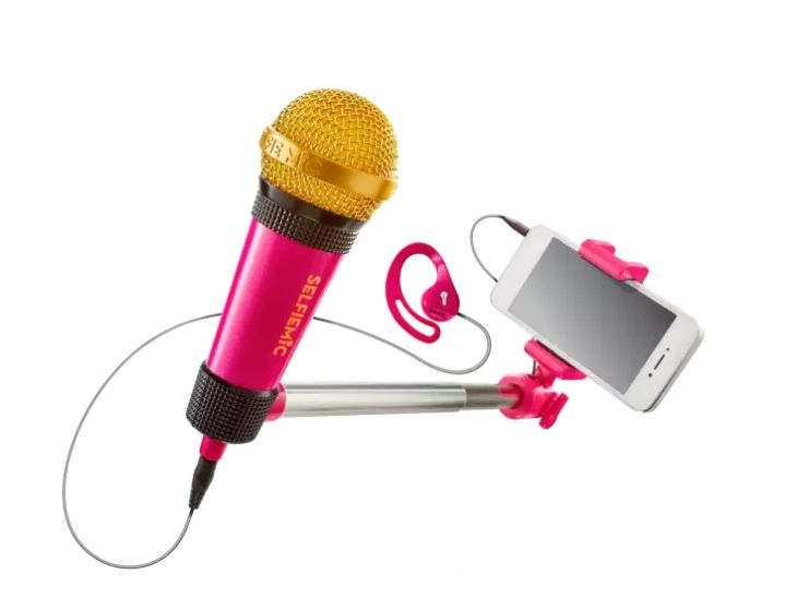 "<a href=""http://www.argos.co.uk/product/5538917"" target=""_blank"">Selfie Mic</a> is also on the list."