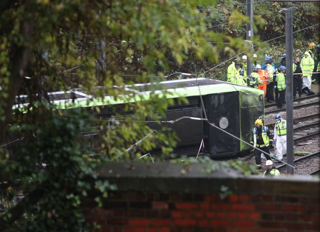 The driver of the tram has been arrested, British Transport Police have