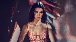 Kendall Jenner Is On Fire In New Lingerie