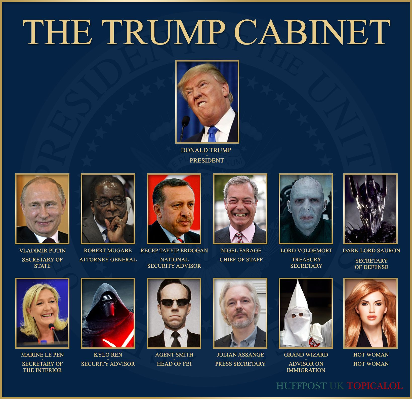 Donald Trump's New Cabinet Is Erm...