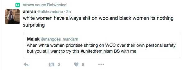 The NUS Womens Officer posted a series of tweets after it was announced Trump had been elected as