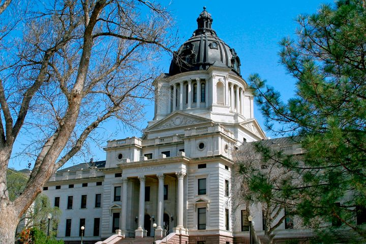 Voters in South Dakota, whose state capitol is pictured, moved to enact sweeping campaign finance reforms on Tuesday.