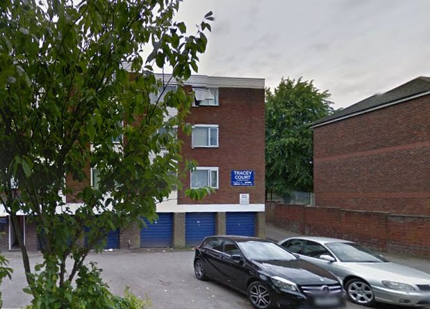 A 24-year-old man was shot dead by police at Tracey Court,off Hibbert Street, in