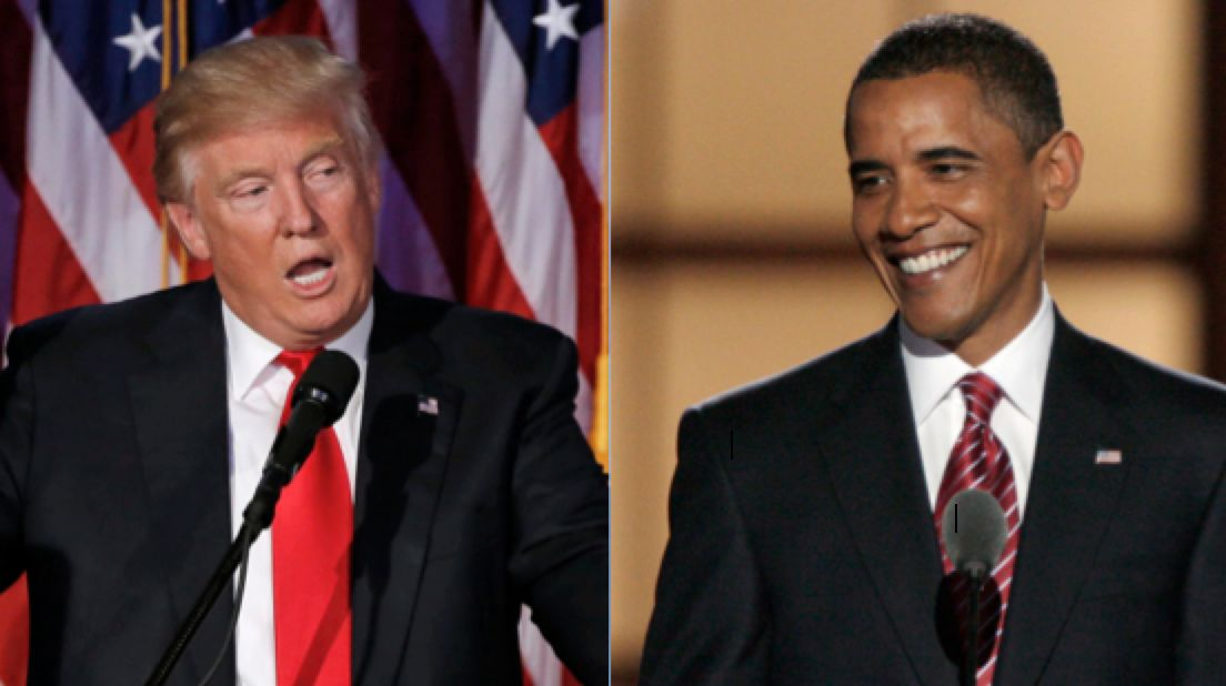 Obama And Trump Speeches Side-By-Side Show How Much Has Changed In Eight
