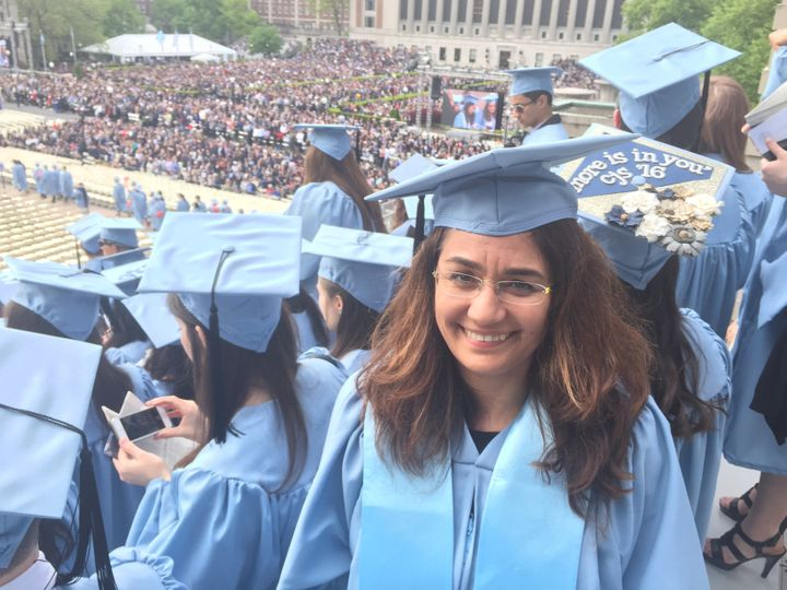 I'm Turkish, and I came to the U.S. to study journalism just over a year ago.