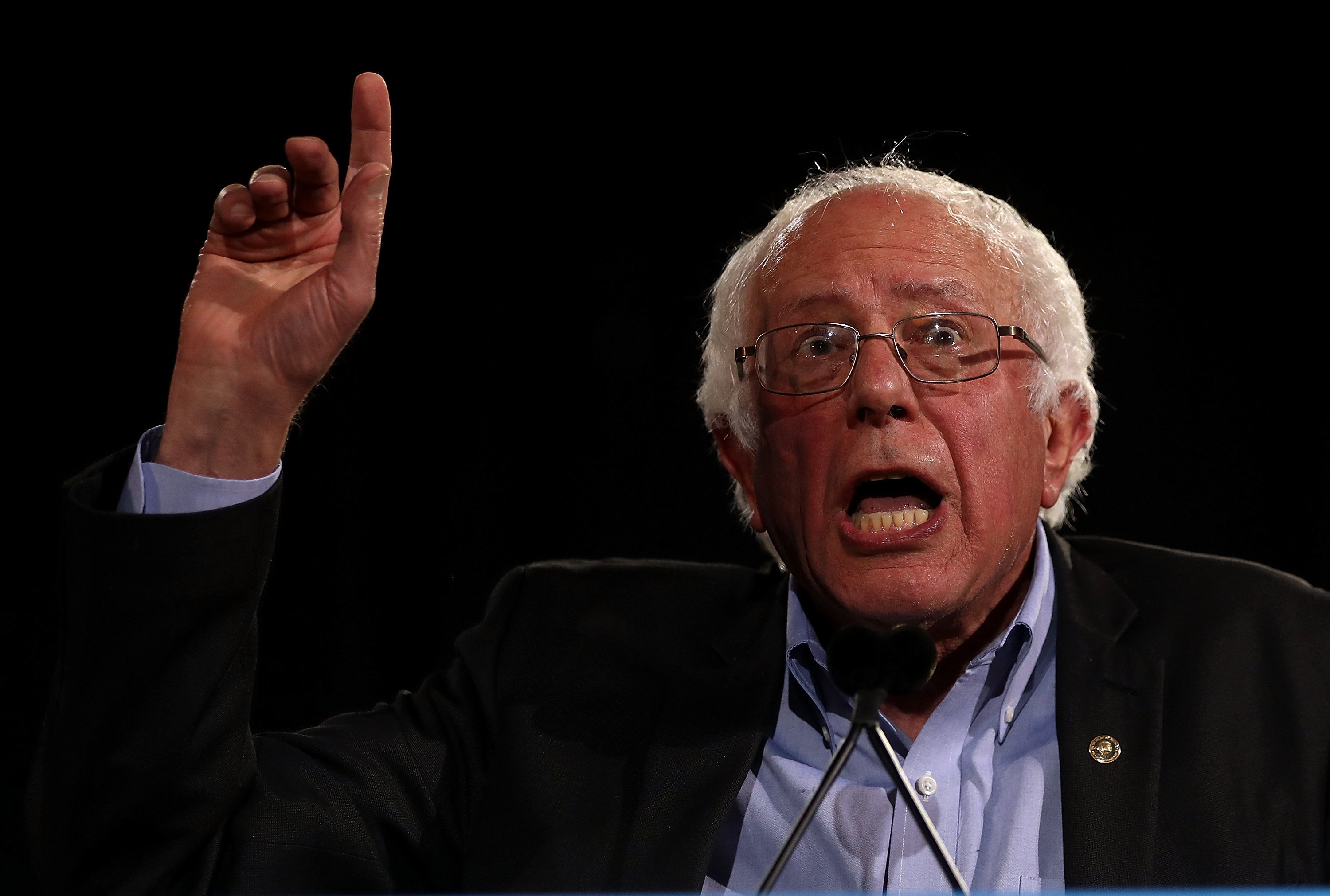Sen. Bernie Sanders (I-Vt.) ran his Democratic primary campaign on themes of income equality and policies aimed at helping th