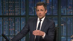 Seth Meyers Moved To Tears While Processing Election