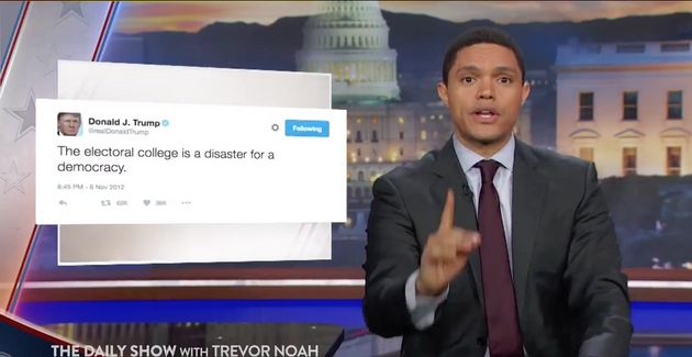 entry trevor noah donald trump tweeting eebbc