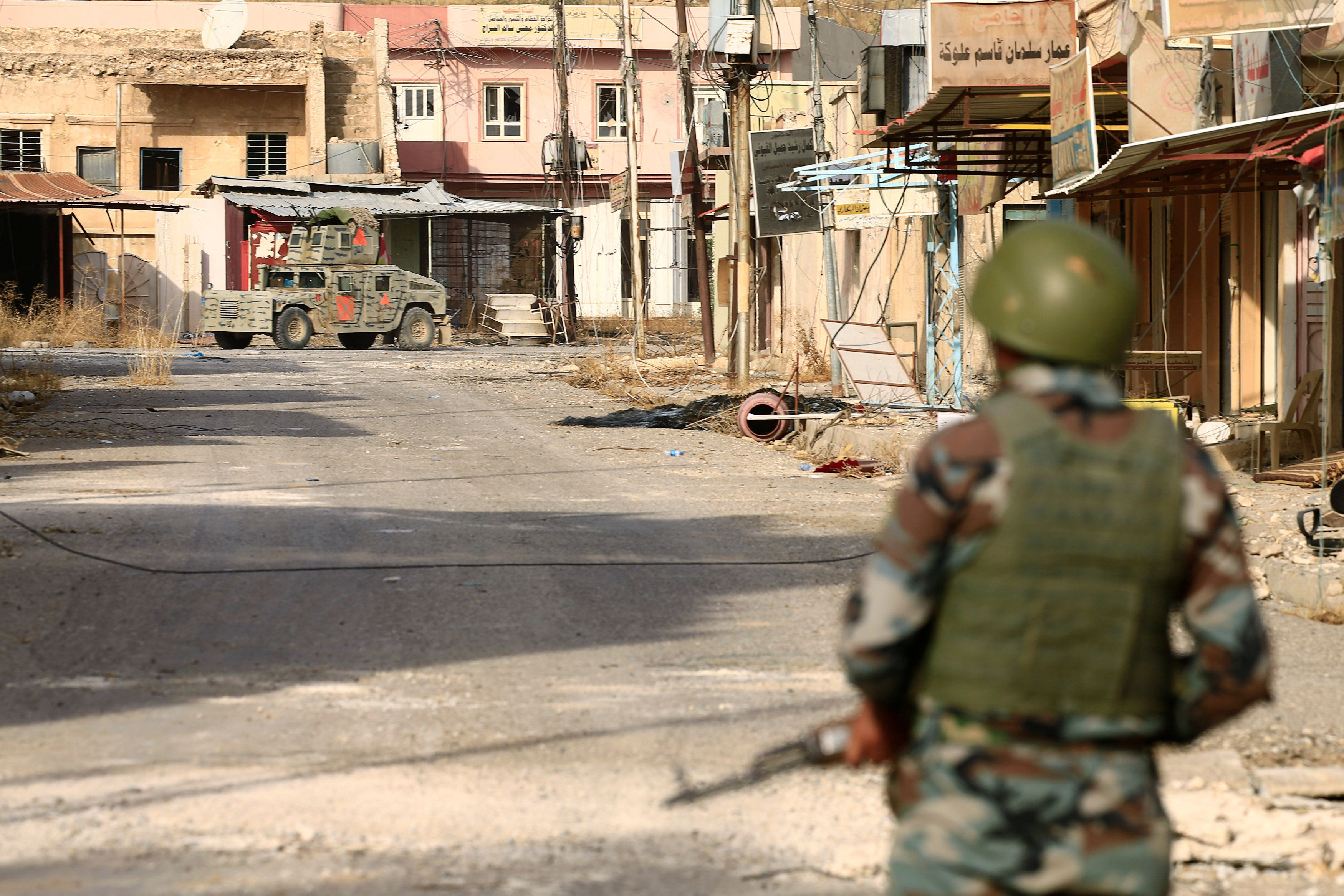 Iraqi Forces Accused Of Killing, Torturing Civilians Near