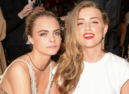 Cara Delevingne Got A Snake Tattoo On Her Hand, Designed By Amber Heard